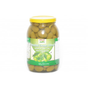 BARAKA GREEN CRACKED OLIVES