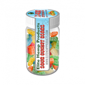 ELITE CBD GUMMY BEARS