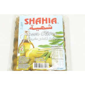 SHAHIA GREEN OLIVES